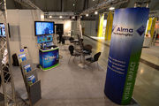 Our booth at VISION 2011 | Alma Technologies