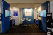 Our booth at IBC2012 | Alma Technologies