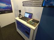 Demonstration of Ultra-Low Latency Constant Bit Rate H.264 video encoding | Alma Technologies