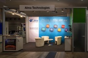 Alma Technologies booth at VISION 2016 | Alma Technologies
